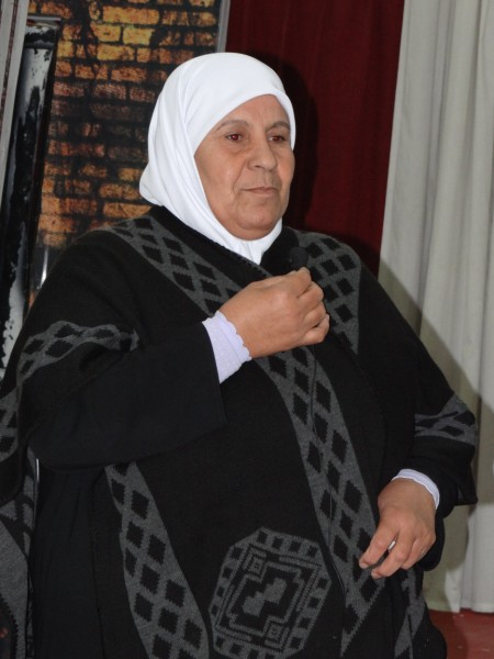 Om Nidal - proud of her martyred sons