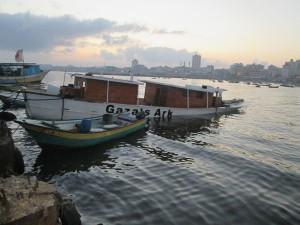 Gaza's Ark now resting on the sea floor