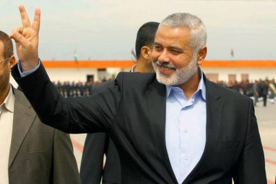 Gaza Prime Minister Ismail Haniyeh