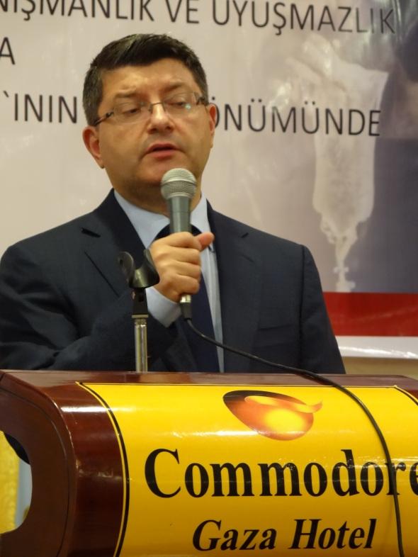 Turkish Ambassador Mustafa Sarnic