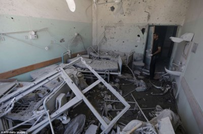 Al Aqsa Hospital after Israeli attacks