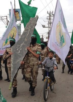 Palestine in safe hands. Photo: Julie Webb-Pullman
