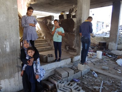 How can this family stay warm in this house in BeitHanoun